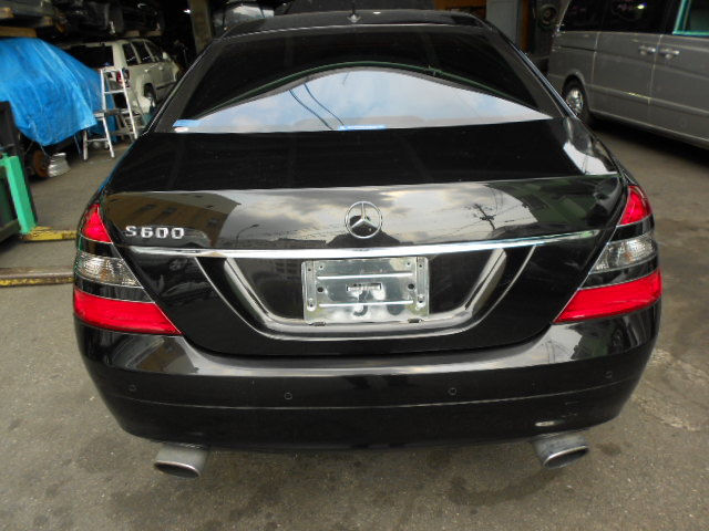 This vehicle is for used mercedes benz we sell any used for Mercedes benz s600l